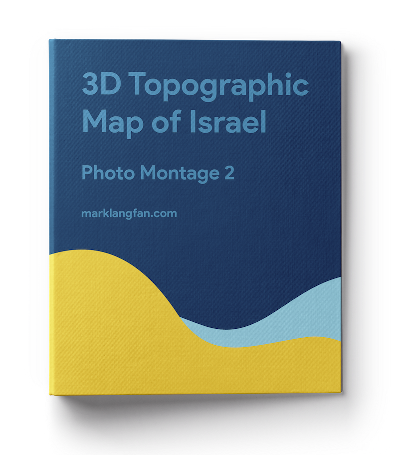 3d Topographic Map Photo Book 02