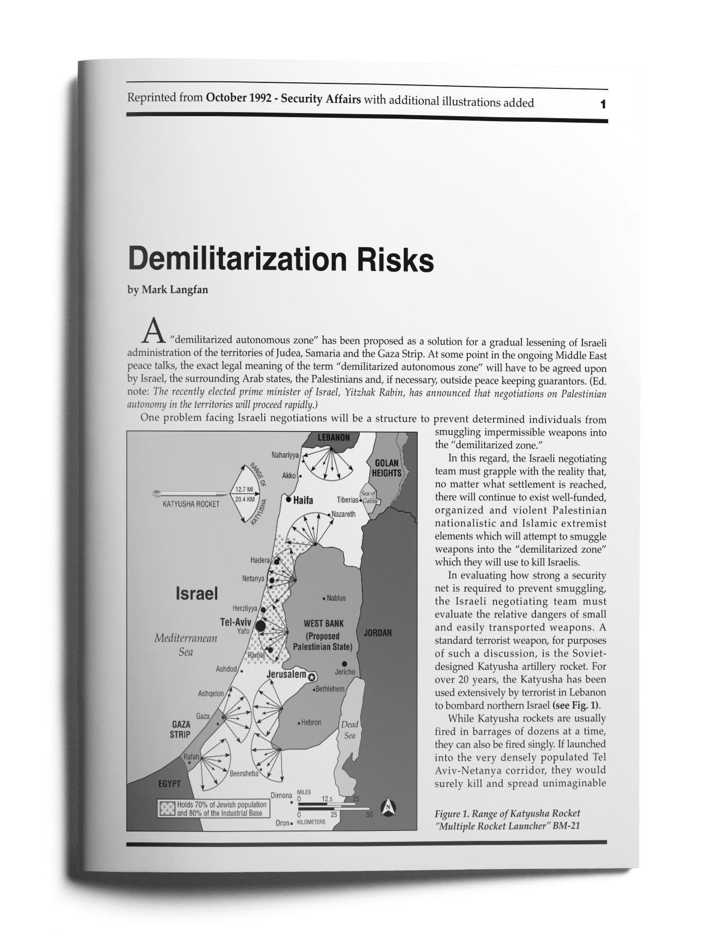 demilitarization risks