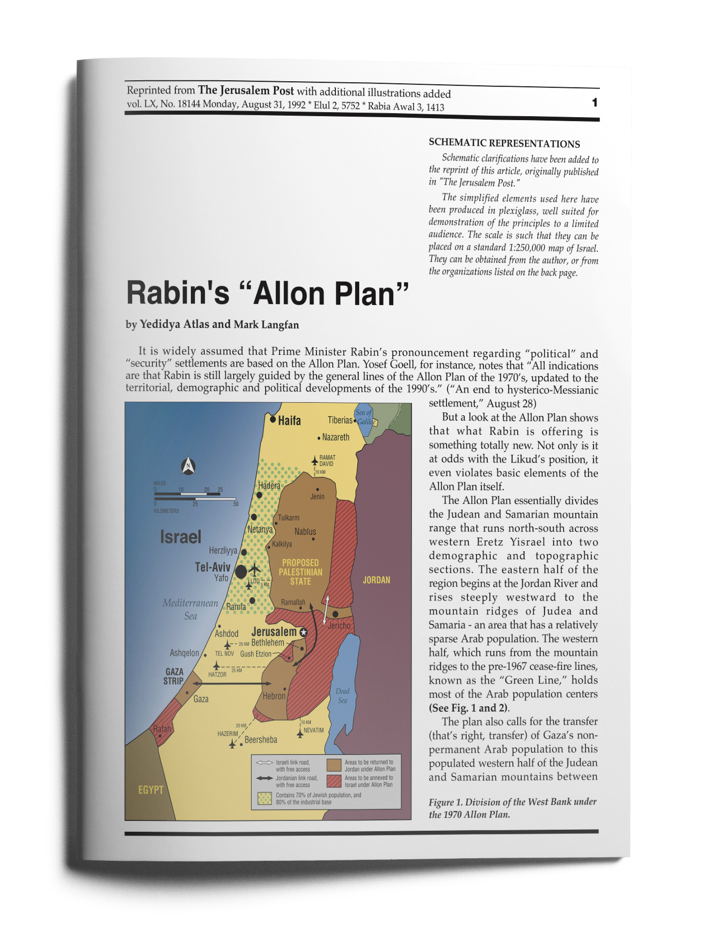 rabins allon plan