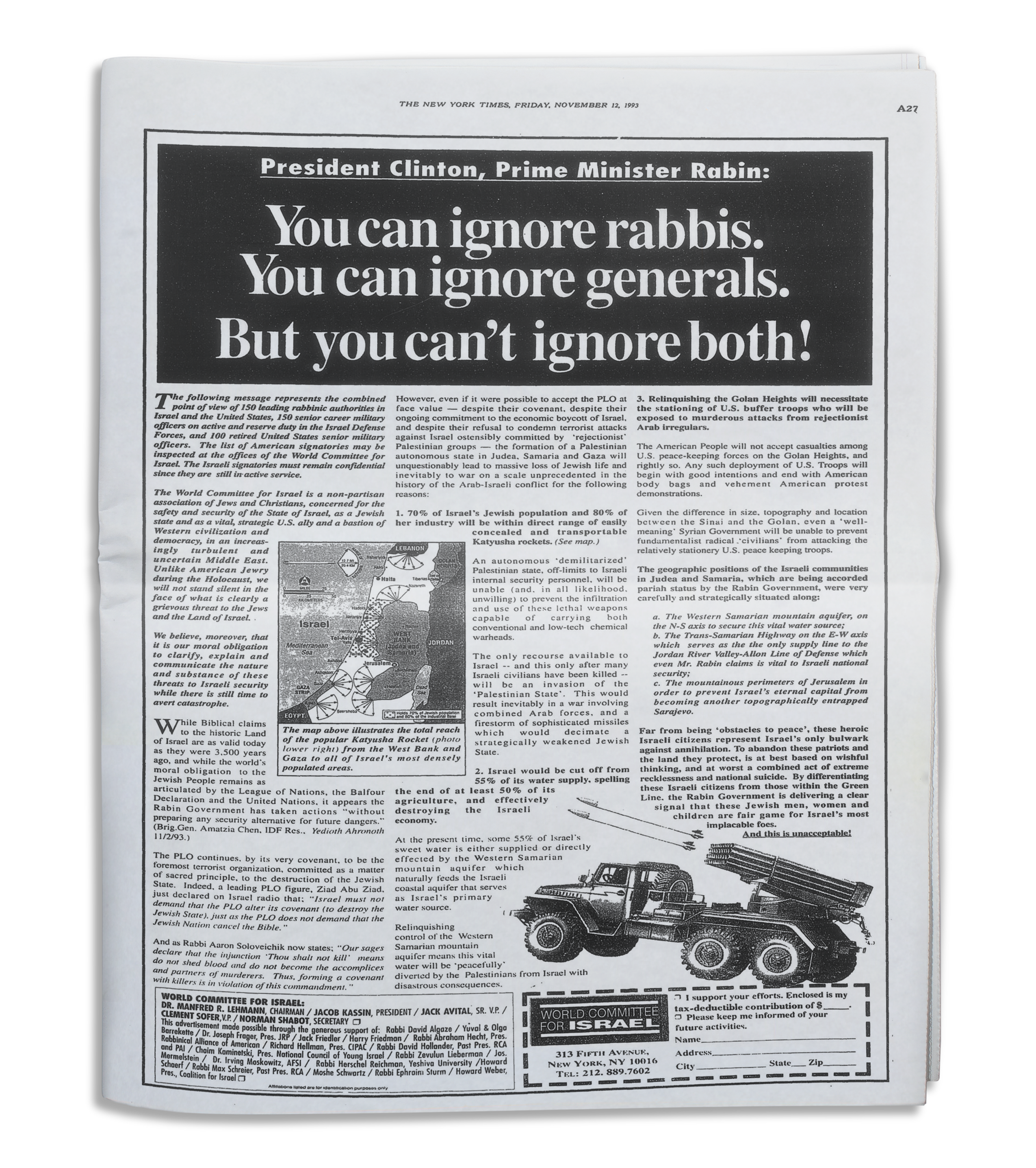 the new york times ad