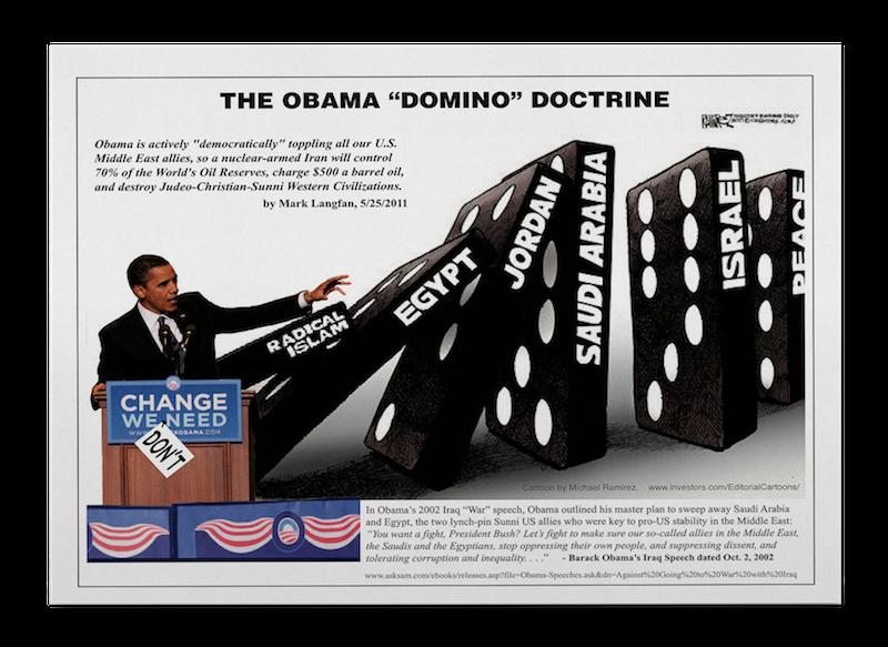 the obama domino doctrine