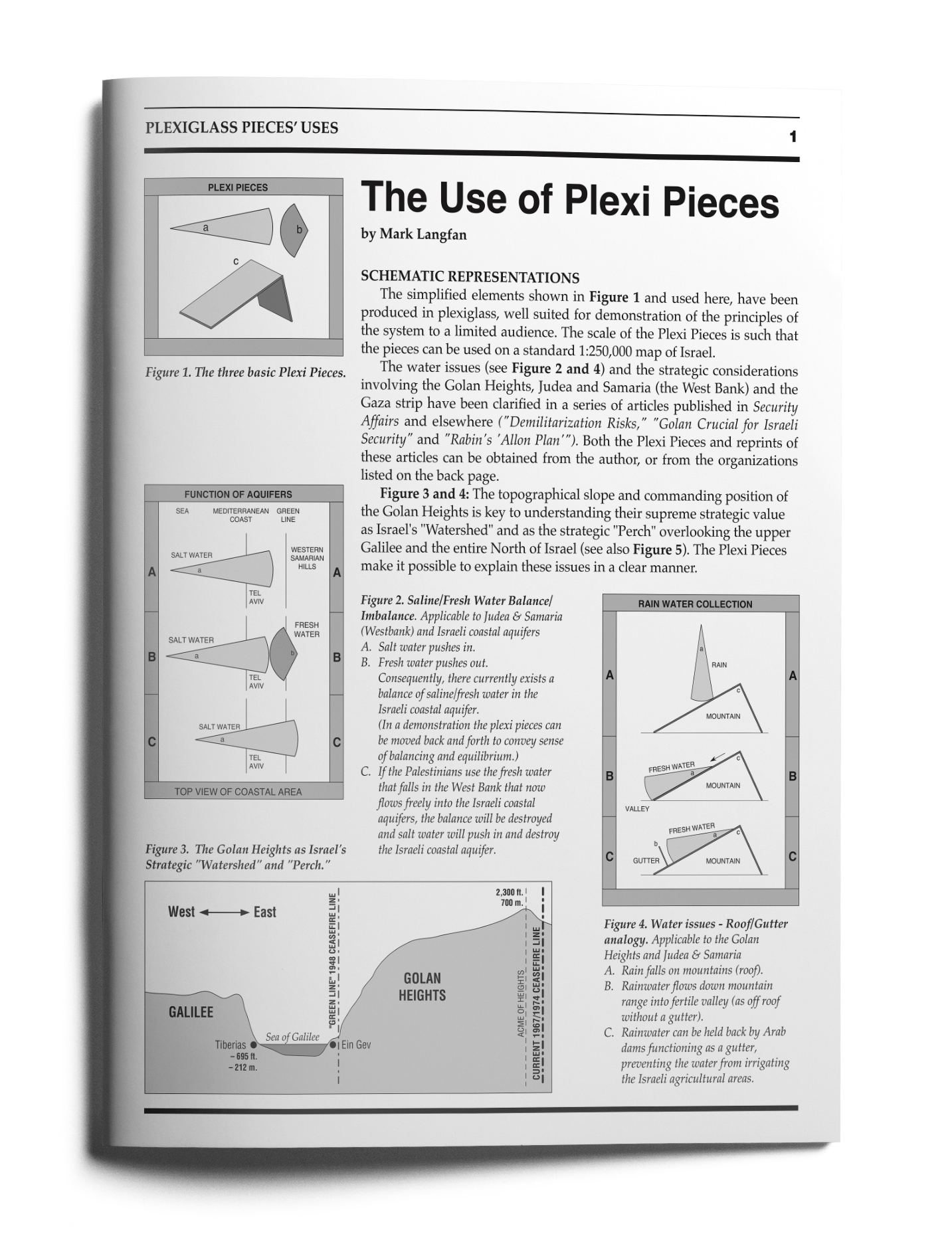 the use of plexi pieces